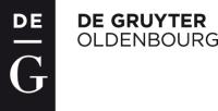 Logo: DeGruyter Oldenburg Verlag