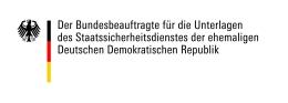 Logo: Bundesbeauftragter für die Unterlagen des Ministeriums für Staatssicherheit der ehemaligen DDR (BStU)