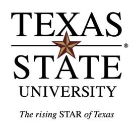 Logo: Texas State University