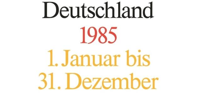 Cover: Akten zur Auswärtigen Politik der Bundesrepublik Deutschland 1985, 2 Bände. Bearbeitet von Michael Ploetz, Mechthild Lindemann und Christoph Johannes Franzen, (Berlin: DeGruyter/Oldenburg, 2016)