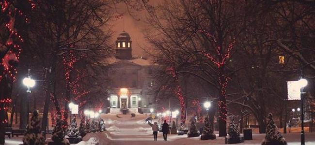 Photo: McGill Lower Field in the Snow (c) McGill University, Montreal, Kanada