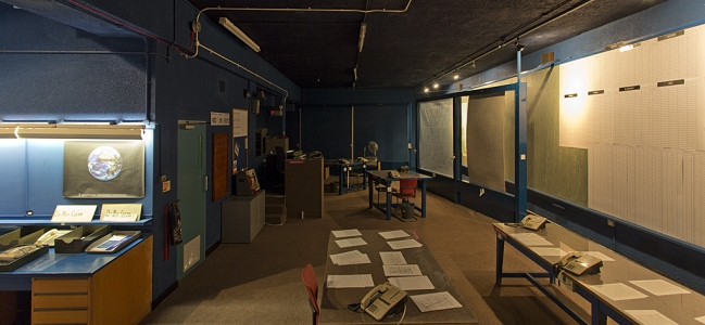 Photo: Innenansicht (c) Royal Observer Corps Caledonian Sector Bunker