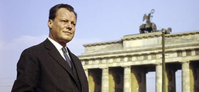 Photo: Willy Brandt in Berlin, 1958 (c) Bundeskanzler-Willy-Brandt-Stiftung (BWBS)