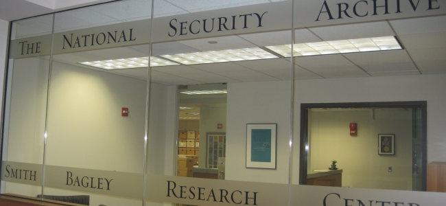 Photo: Archive at the Gelman Library (c) National Security Archive