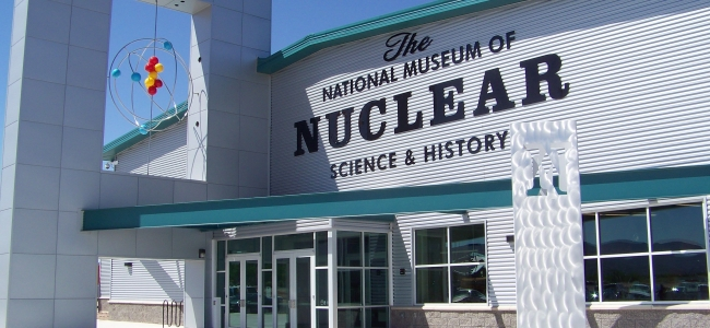 Photo: Building Entry (c) National Museum of Nuclear Science and History