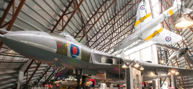 Photo: Vulcan (c) Royal Air Force Museum Cosford