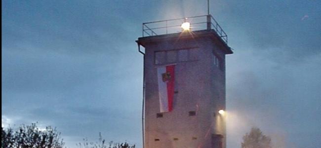 Photo: Wachturmfeuer (c) Verein für Heimatgeschichte im Grabfeld Bad Königshofen